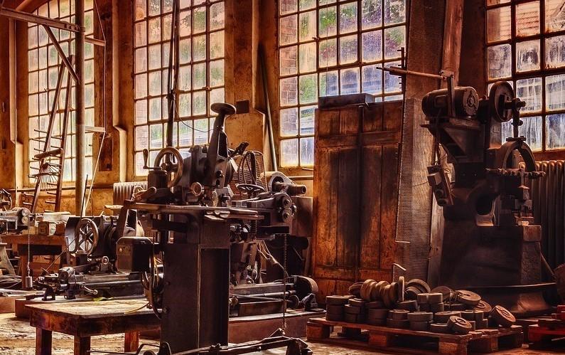 Gamle maskiner.