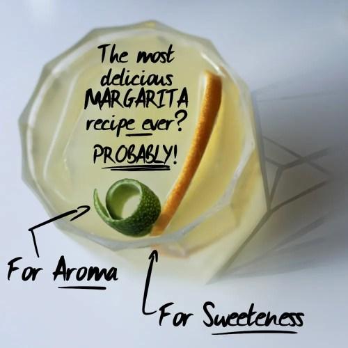 Skinny Margarita cocktail