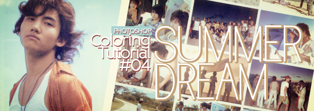 Photoshop: Coloring Tutorial #04: Summer Dream + TVXQ JYJ Lee YeonHee iPhone Wallpapers