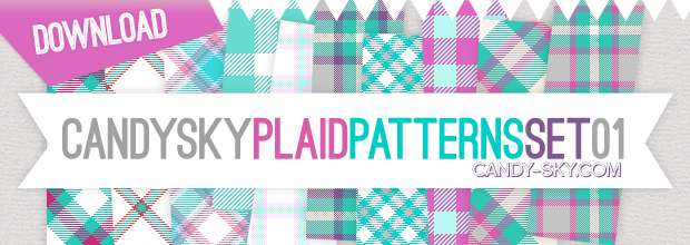 Download: Plaid Pattern Set 01
