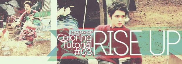 Photoshop: Coloring Tutorial #03: Rise Up + JaeJoong, YunHo, ChangMin, JunSu, EXO-K iPhone Wallpapers