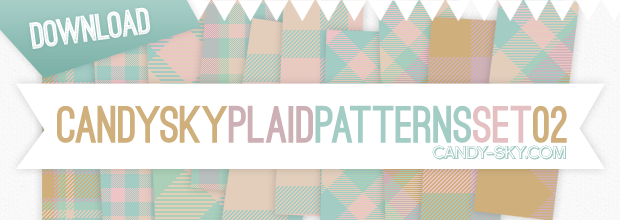 Download: Plaid Pattern Set 02