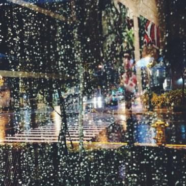 On a rainy Sunday