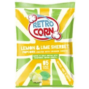 Bag of lemon lime sherbet popcorn