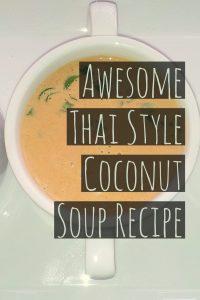 Thai Style Coconut Soup
