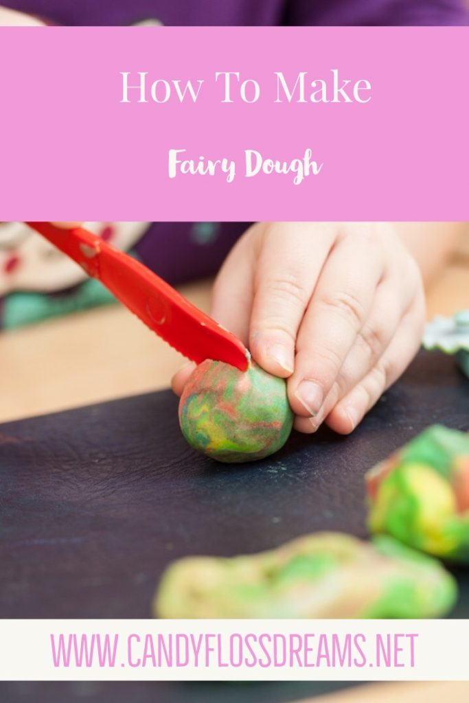 Three Ingredient Fairy Dough for Kids