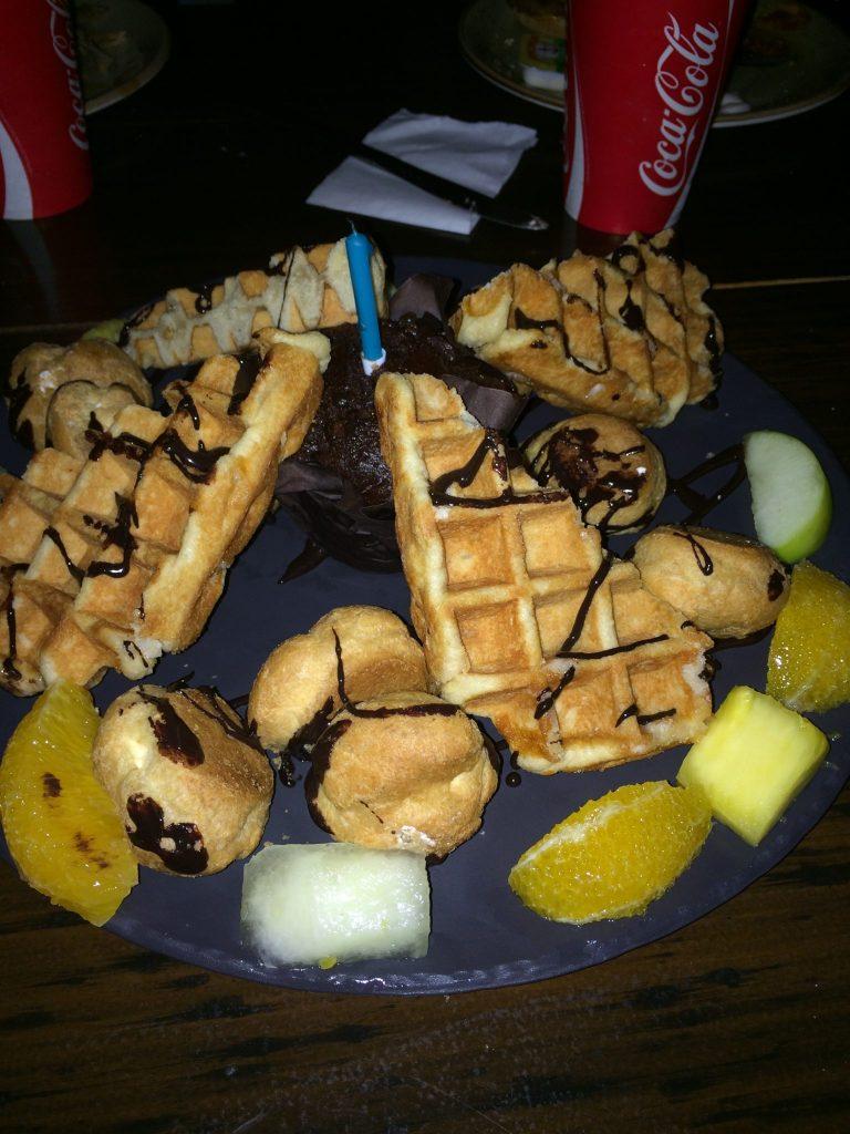Warwick Castle Food Glamping