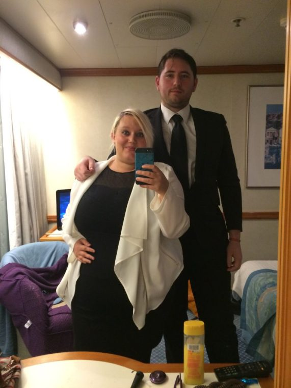 cruising, young couples holiday, cruise black tie