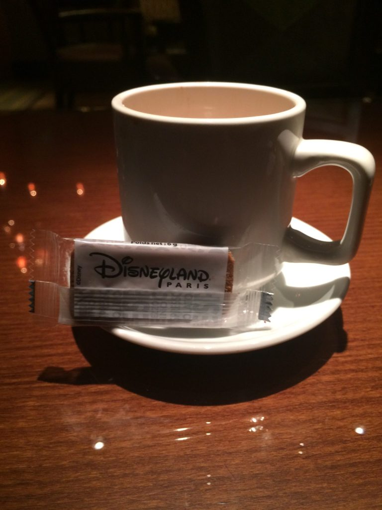 Golden Forest Club Lounge Drinks, Disneyland Paris Hot Chocolate