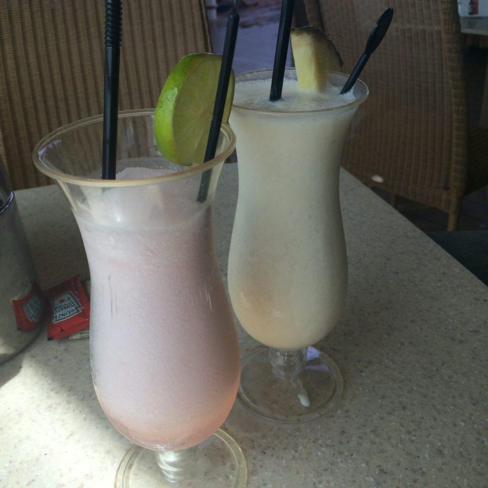 cocktails, cruise ship cocktails, azura ship cocktails, frozen daiquiri, pina colada