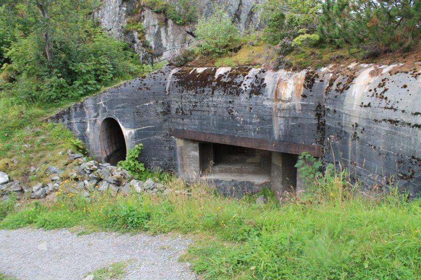 german bunker, alesund, norway