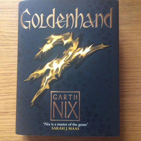 Goldenhand, Book Review, Garth Nix, Old Kingdom Series