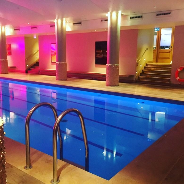 Haymarket hotel swimming pool