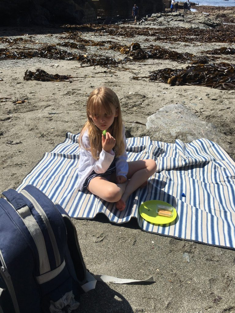 Picnic Lunch At Lizard Point, Mullion Holiday Park