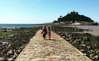 St Michael's Mount Cornwall Causeway