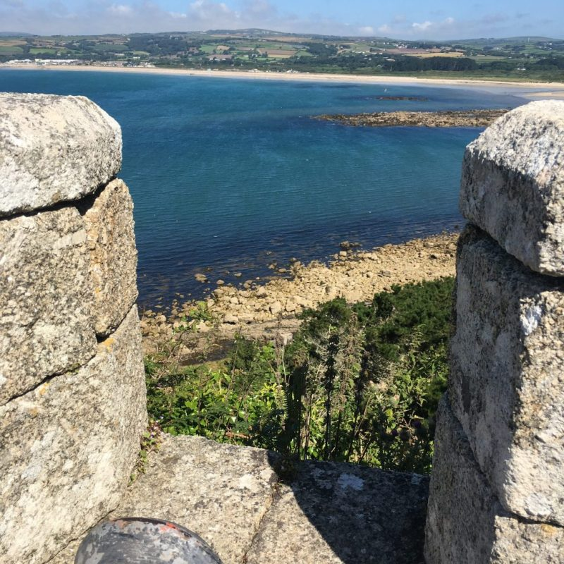 St Michaels Mount, A View From The Top