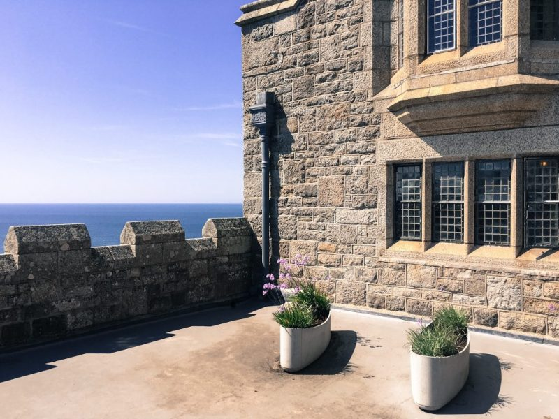 St Michaels Mount, Castle Grounds, Marazion Cornwall