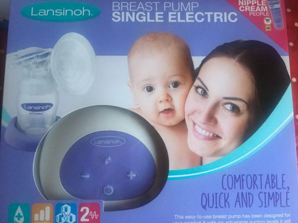 Breastfeeding essentials, lansinoh single electric pump