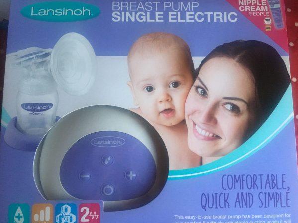 Breastfeeding essentials, lansinoh single electric pump