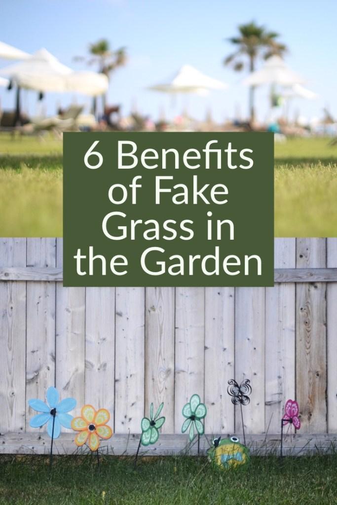 Benefits of Fake Grass in Garden