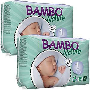 Bambo Nature disposable nappies, biodegradable nappies, New Baby Wishlist