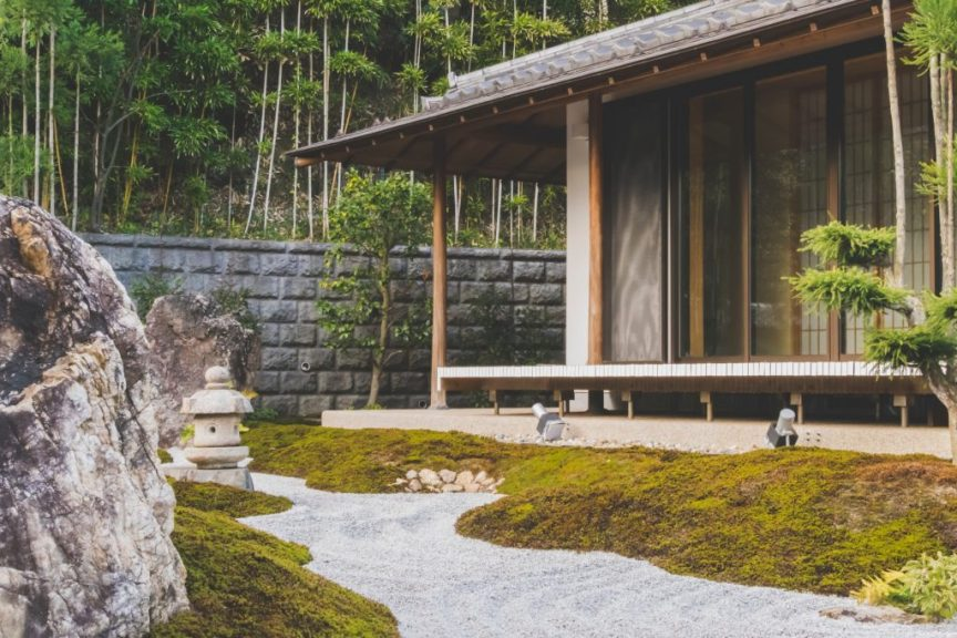 outside landscaping for perfect summer garden
