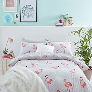 Flamingo Bedroom Decor, Flamingo Bedding Set
