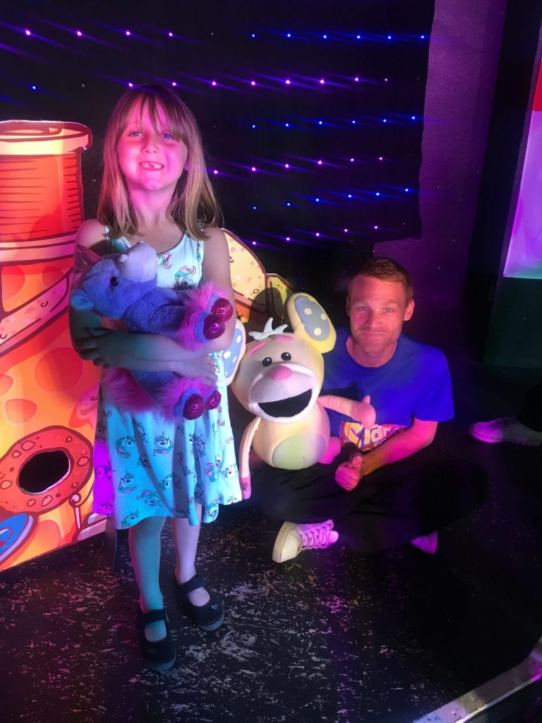 Pipsqueak the mouse landguard holiday park kids entertainment