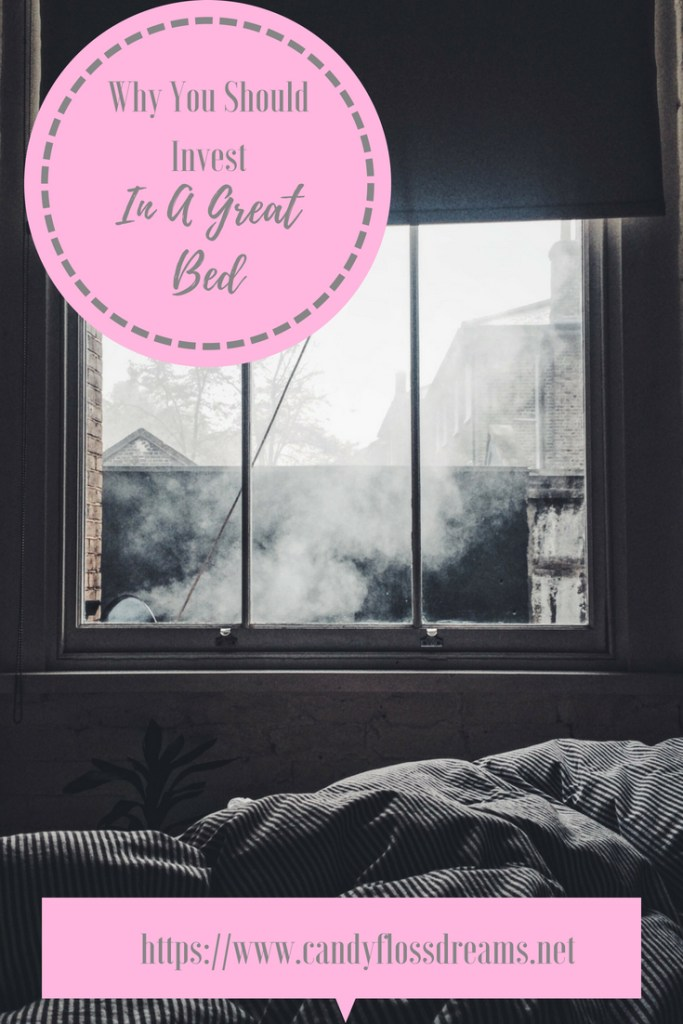a great bed helps get a good night sleep