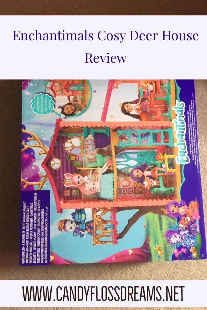 Kids Toy Review of Enchantimals Cosy Deer House by Mattel