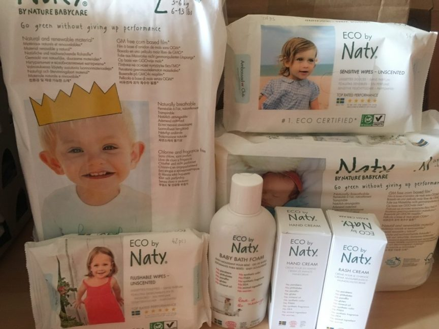 Nappy changing station, eco friendly nappies
