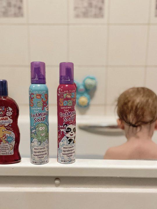 Making Bath Time Fun with Kids Stuff Crazy Bathtime Range