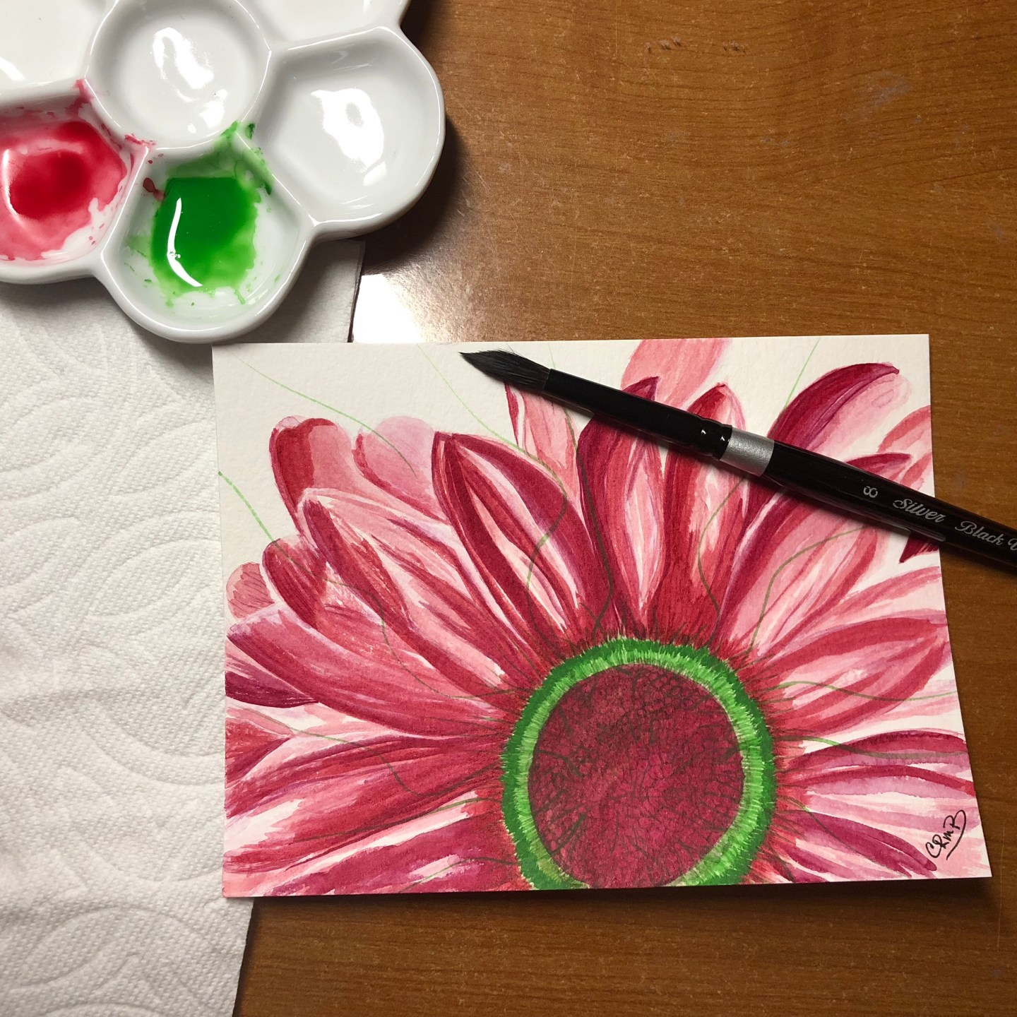Watercolor – Pink Flower