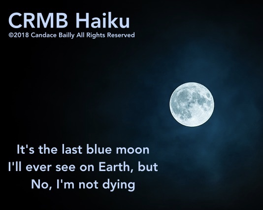Blue Moon – Haiku