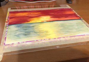 Ocean View 2a watercolor