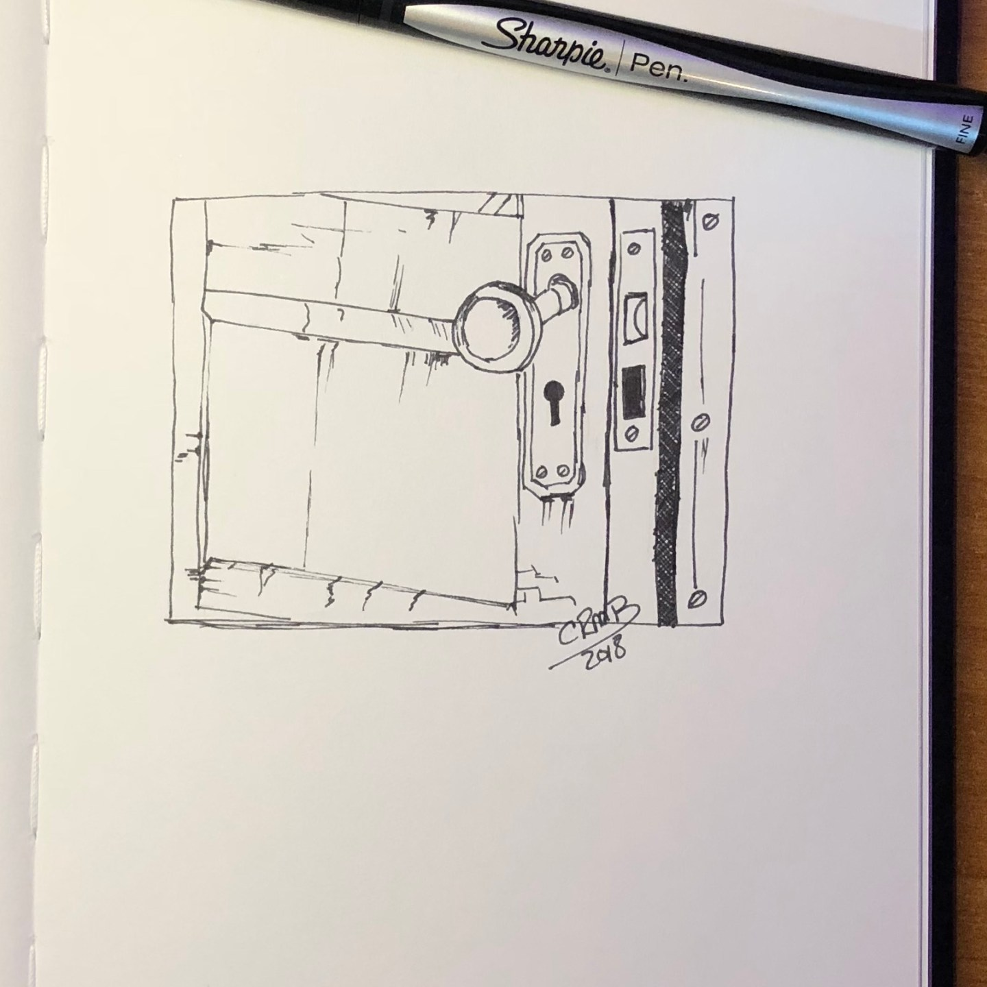 Sketch – Doorknob