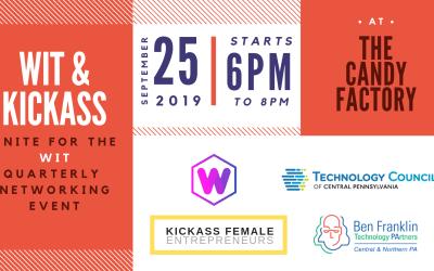 WIT & KICKASS Female Entrepreneurs Unite for free networking event September 25th.