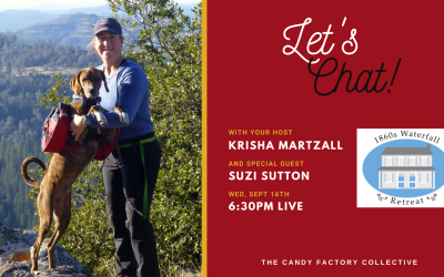 Let's Chat Ep. 4 with Suzi Sutton of 1860's Waterfall Retreat