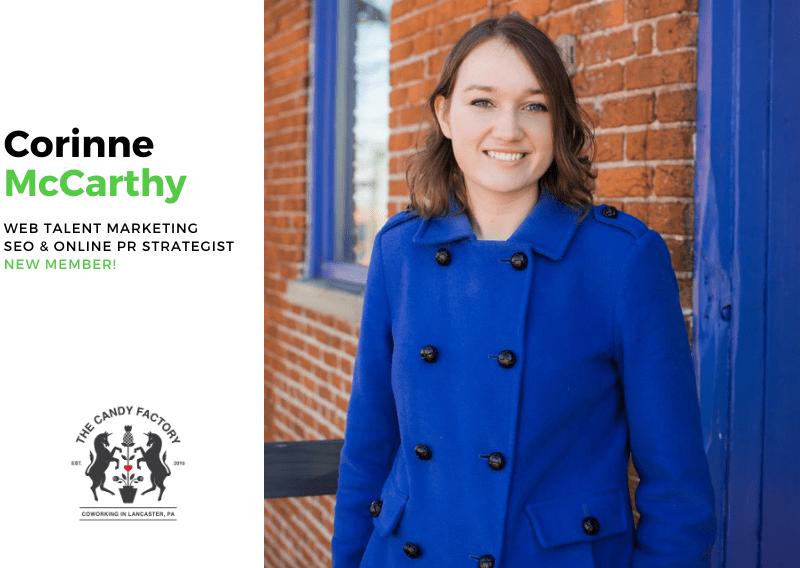 New Member Spotlight – Corinne McCarthy