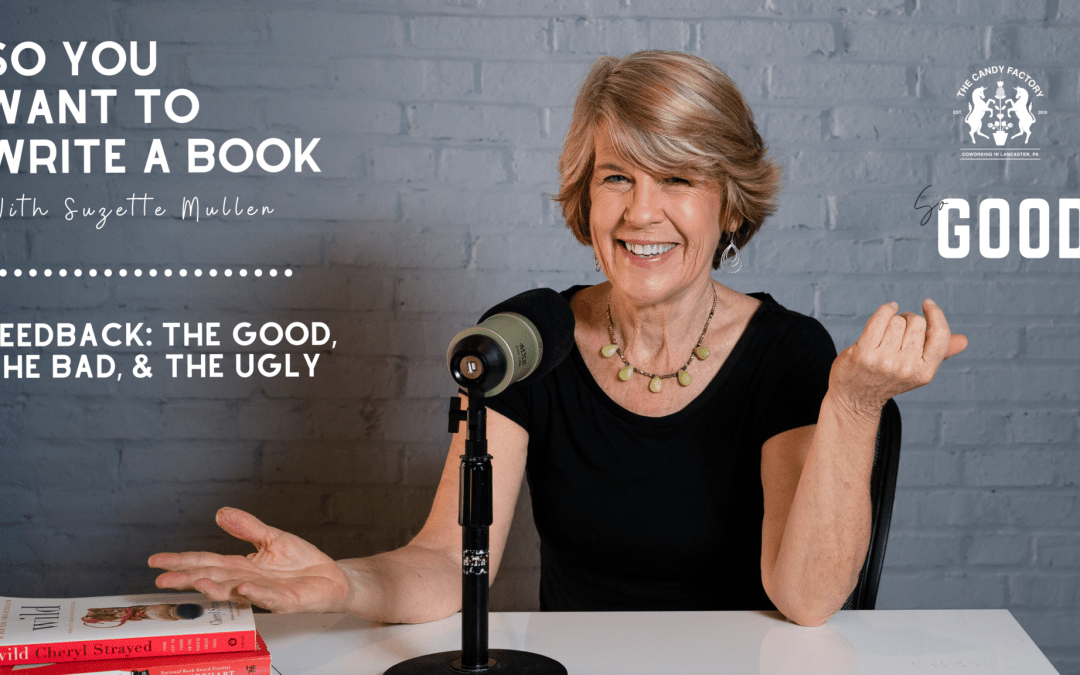 Feedback: The Good, The Bad, & The Ugly. Ep 22 of So You Want to Write a Book with Suzette Mullen