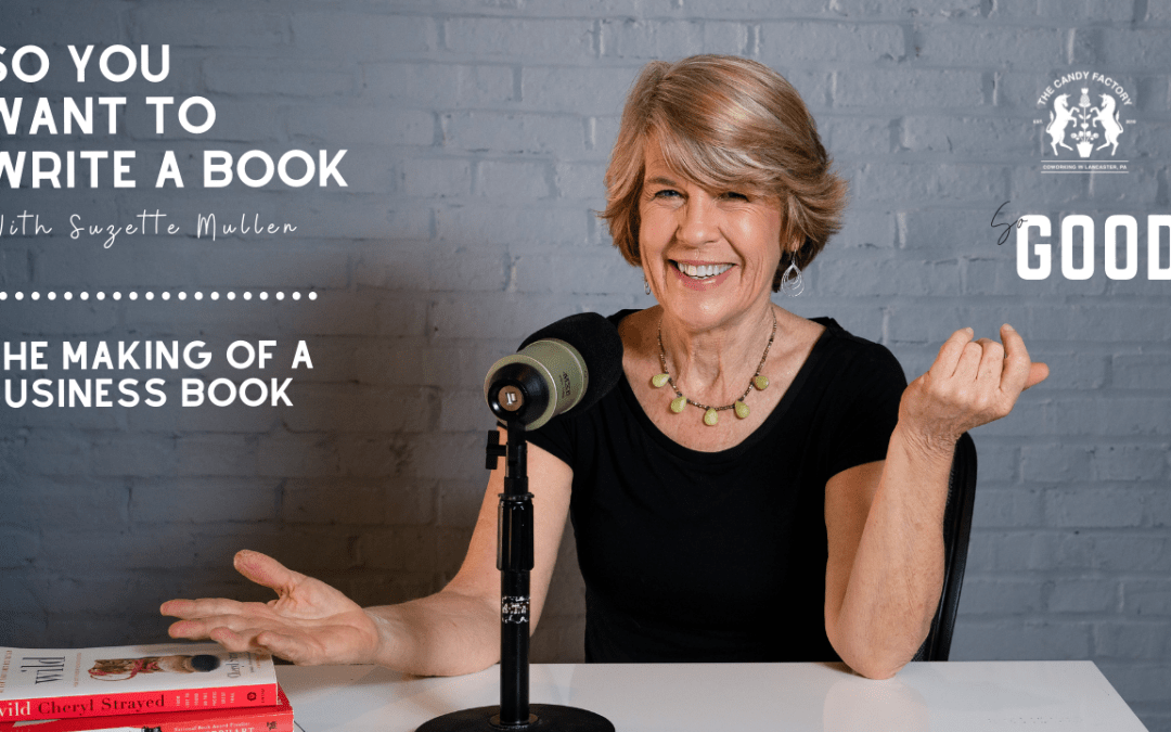 The Making of a Business Book: Ep 24 of So You Want to Write a Book with Suzette Mullen