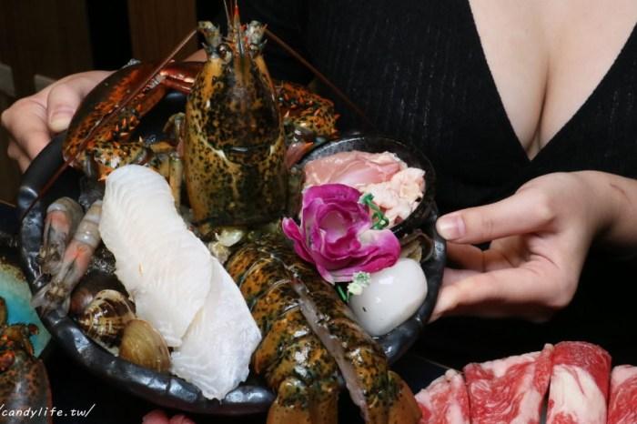 吃鍋免費抽Iphone11,台中超狂剝皮辣椒雞鍋,鮑魚、整隻龍蝦入鍋外,澎派海鮮肉量再加倍