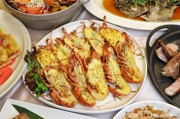 新天地旗艦店│台中海鮮合菜餐廳推薦!菜色超豐富,店內買餐券還有超多好康