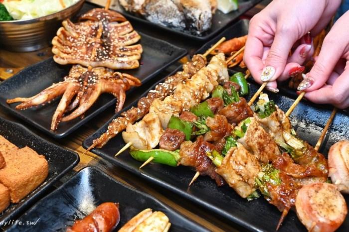 夜燒碳烤 中秋吃烤肉就來夜燒碳烤,價格平價,超過50種串燒任你選,營業至凌晨一點半,台中宵夜、中秋吃烤肉好選擇~