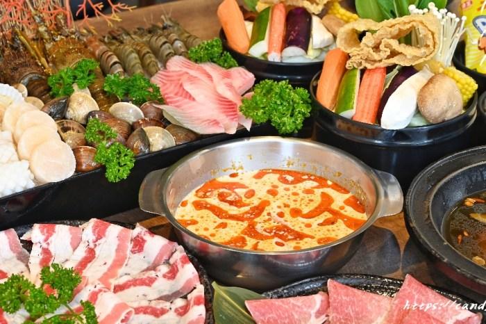 上尚坊精緻鍋物 台中平價鍋物推薦,超狂雙人套餐,頂級七種海鮮爽爽吃,飯後還有哈根達斯,期間限定販售~