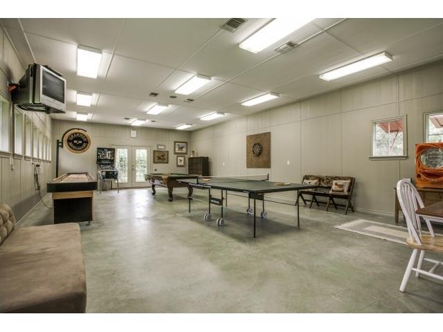 "Gameroom in ""Dairy Barn"""
