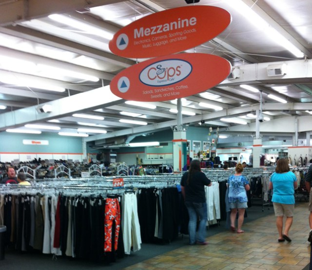 A Section of the Women's Department