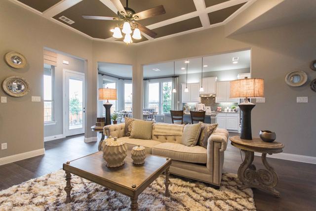 MI Homes Opens New Model In McKinneys Park Ridge