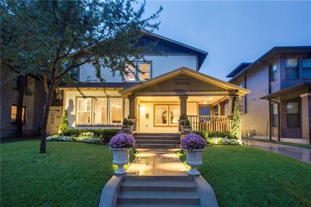 Splurge vs. Steal: Two Vickery Place Craftsman-style Houses | CandysDirt.com
