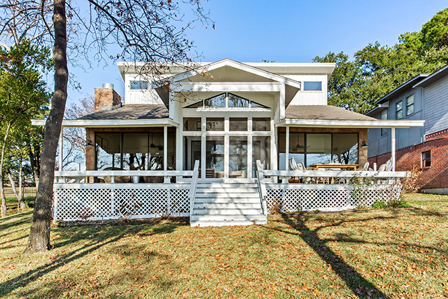A percentage of the lake house sale will benefit Dwell with Dignity
